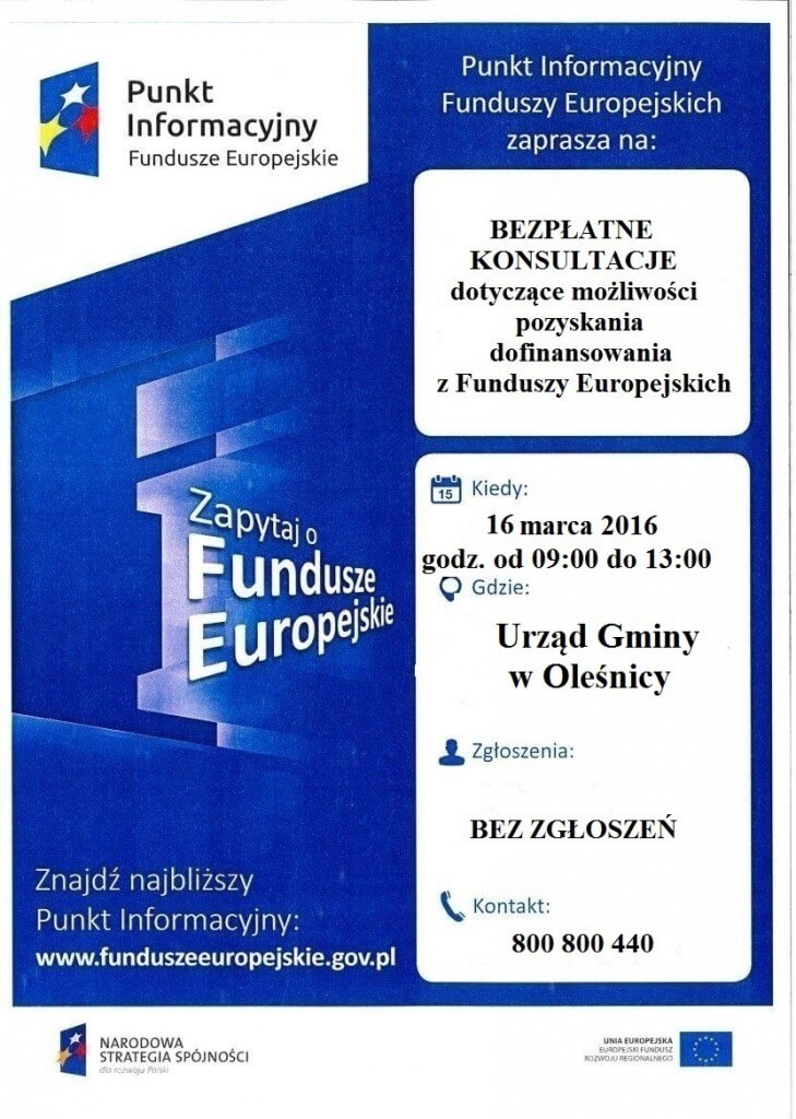 Oleśnica 16.03.2016