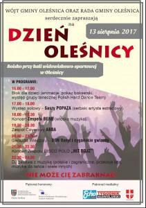 Dzień Oleśnicy 13.08.2017 r.