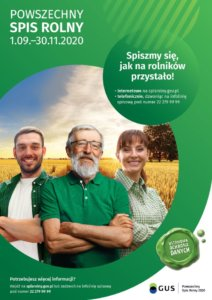 Powszechny Spis Rolny. Spiszmy się, jak na rolników przystało!