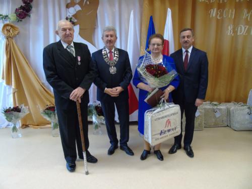 Honorata i Henryk Wójcikowie