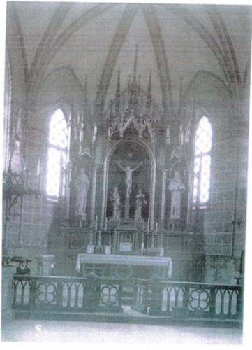 Ołtarz gółwny w kościele w Oleśnicy