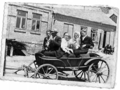 lata 50. ubiegłego wieku ul.Rynek w Oleśnicy