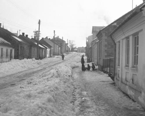 ul. Staszowska. Lata '70 XX w.