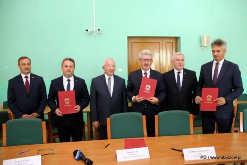 Porozumienie międzygminne w sprawie MOF Staszowa