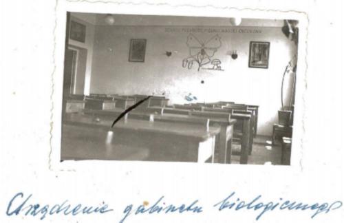 Klasy szkolne. 1961 r..