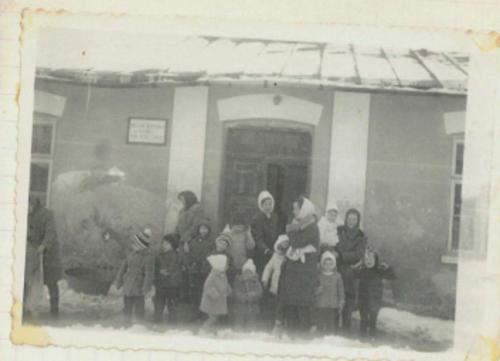 Przedszkole. '60 XX w..