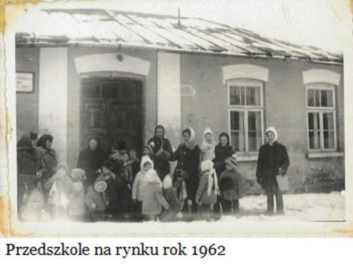 Przedszkole. Rynek 1962 r..