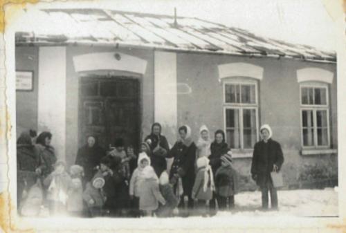 Przedszkole. 1962 r..