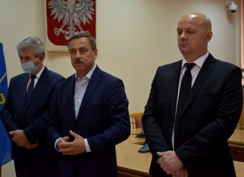 Wiceprzewodniczący Sejmiku Marek Strzała